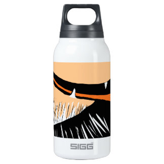 Collie, pant, pant, pant insulated water bottle