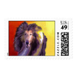 Collie Postage Stamps