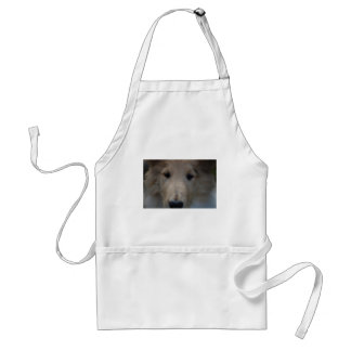 Collie Puppy Eyes! Adult Apron