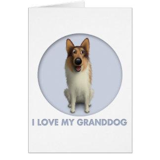 Collie (Rough Coat) Granddog Card