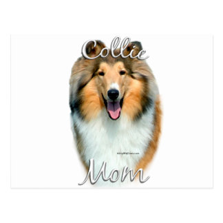 Collie (rough) Mom 2 Post Cards