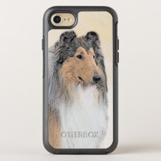 Collie (Rough) OtterBox Symmetry iPhone 8/7 Case
