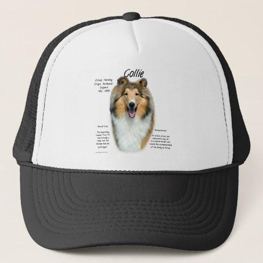 Collie (sable rough) History Design Trucker Hat