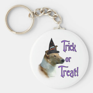 Collie (sable smooth) Trick Key Chains