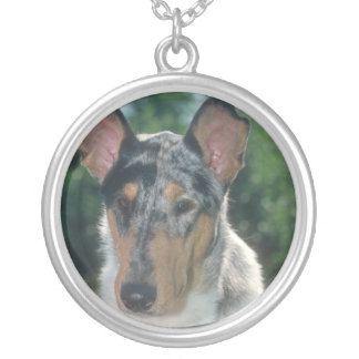 Collie Smooth Merle Necklace