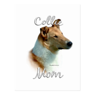 Collie (smooth) Mom 2 Postcards
