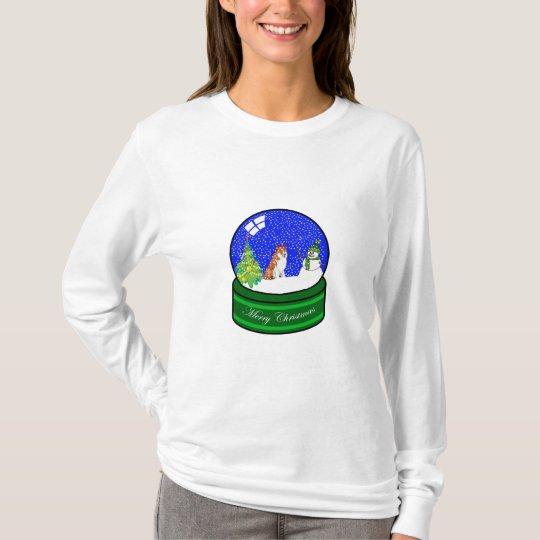collie snow globe T-Shirt