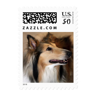 Collie Stamp