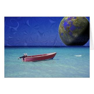 Collie World Parasail  Card