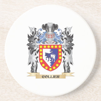 Collier Coat of Arms - Family Crest Drink Coaster