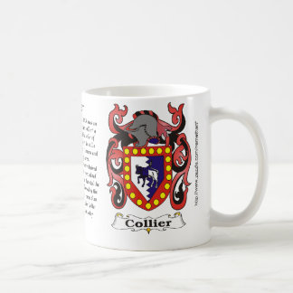 Collier Family Coat of Arms mug