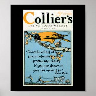 Collier's 1914 Print