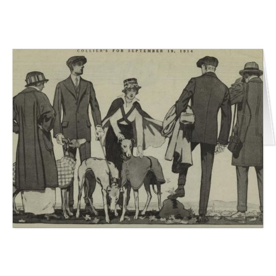 Collier's Hound Coats Card