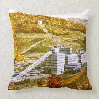 Colliery Throw Pillow