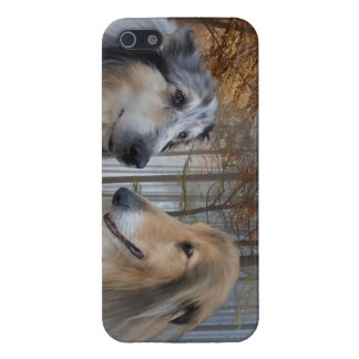Collies Digitally Painted Case For iPhone SE/5/5s