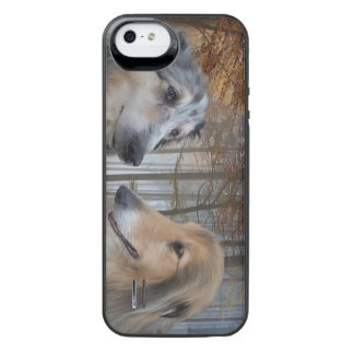 Collies Digitally Painted iPhone SE/5/5s Battery Case