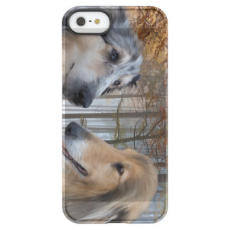 Collies Digitally Painted Permafrost iPhone SE/5/5s Case