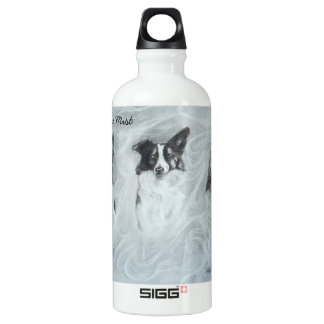 Collies in the Mist, Water Bottle, Canteen, SIGG Traveler 0.6L Water Bottle