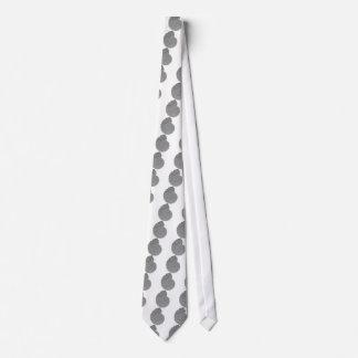 Collignoniceras woollgari- ammonite-bas-relief neck tie