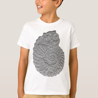 Collignoniceras woollgari- ammonite-bas-relief T-Shirt