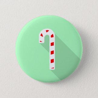 Colligo Candy Cane Badge Pinback Button