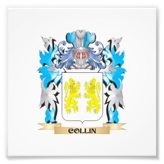 Collin Coat of Arms - Family Crest Photograph