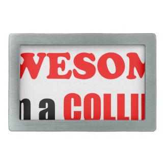 Collins Awesome Family Belt Buckles