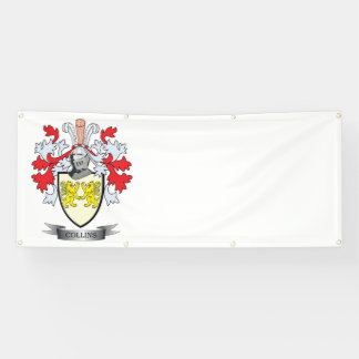 Collins Coat of Arms Banner