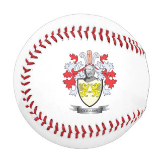 Collins Coat of Arms Baseball