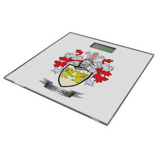 Collins Coat of Arms Bathroom Scale