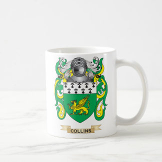 Collins Coat of Arms Coffee Mug
