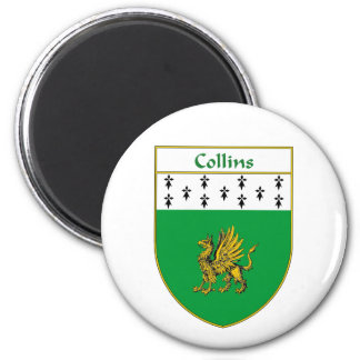 Collins Coat of Arms/Family Crest Magnet