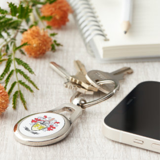 Collins Coat of Arms Keychain