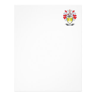 Collins Coat of Arms Letterhead