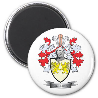 Collins Coat of Arms Magnet