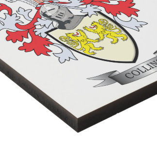 Collins Coat of Arms Panel Wall Art