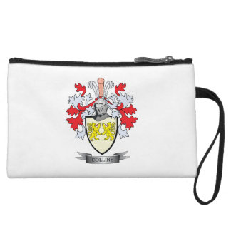 Collins Coat of Arms Wristlet