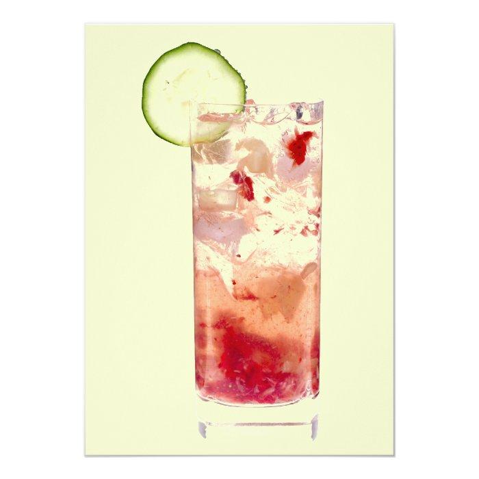 Collins Cocktails Invitation