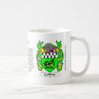 Collins Crest mug