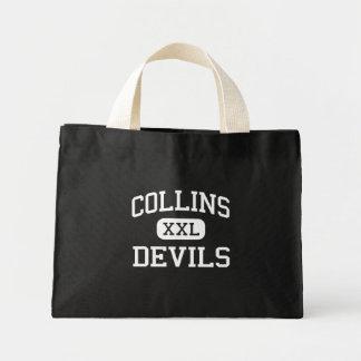 Collins - diablos - centro - colina Virginia Occid Bolsas