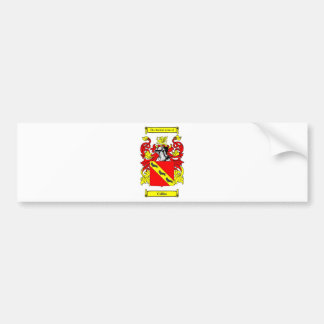 Collins (English) Coat of Arms Bumper Sticker
