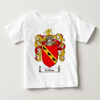 COLLINS FAMILY CREST -  COLLINS COAT OF ARMS BABY T-Shirt