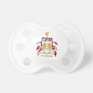 Collins Family Crest Heraldry Pacifier