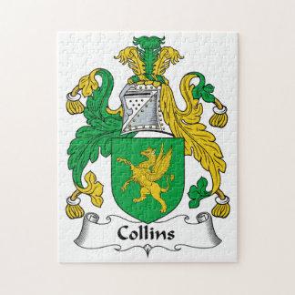 Collins Family Crest Puzzle