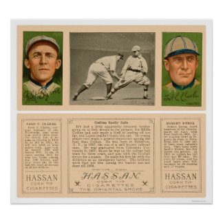 Collins & Lajoie Pirates Baseball 1912 Posters