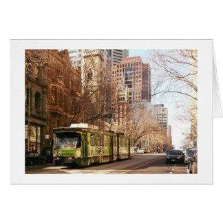 Collins Street Melbourne Card
