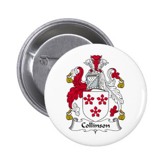 Collinson Family Crest Buttons