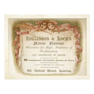 Collinson & Lock Postcard