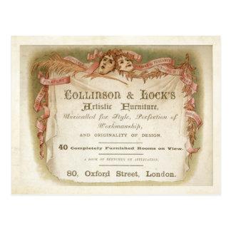 Collinson & Lock Postcard