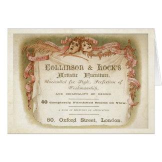Collinson y cerradura tarjeta de felicitación